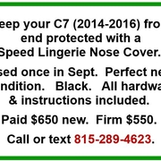 Speed Lingerie Nose Cover for C7 Stingray